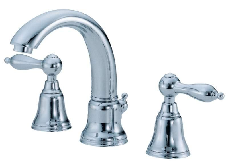 Danze D303140 Fairmont™ Widespread Double Handles Deck Mounted Faucet In Chrome