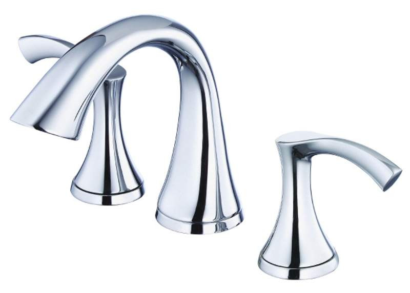 Danze D304122 Antioch™ Mini-Widespread Lavatory Faucet With Touch Down Drain In Chrome