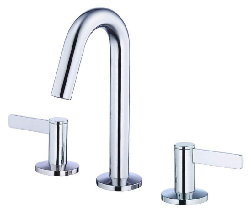 Danze D304130 Amalfi™ Double Lever Handles Mini-Widespread Lavatory Faucet In Chrome