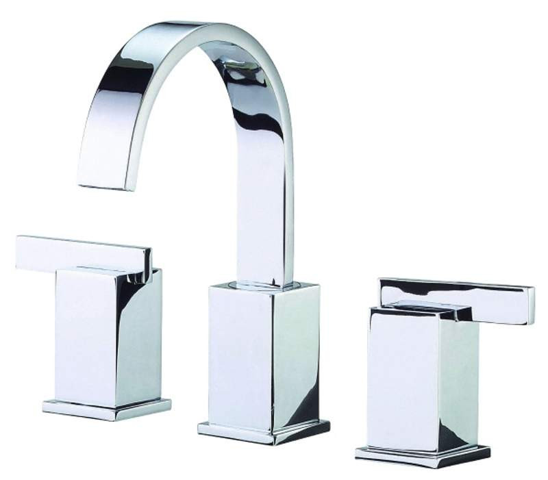 Danze D304144 Sirius™ Sirius™ Deck Mounted Widespread Double Handle Lavatory Faucet In Chrome