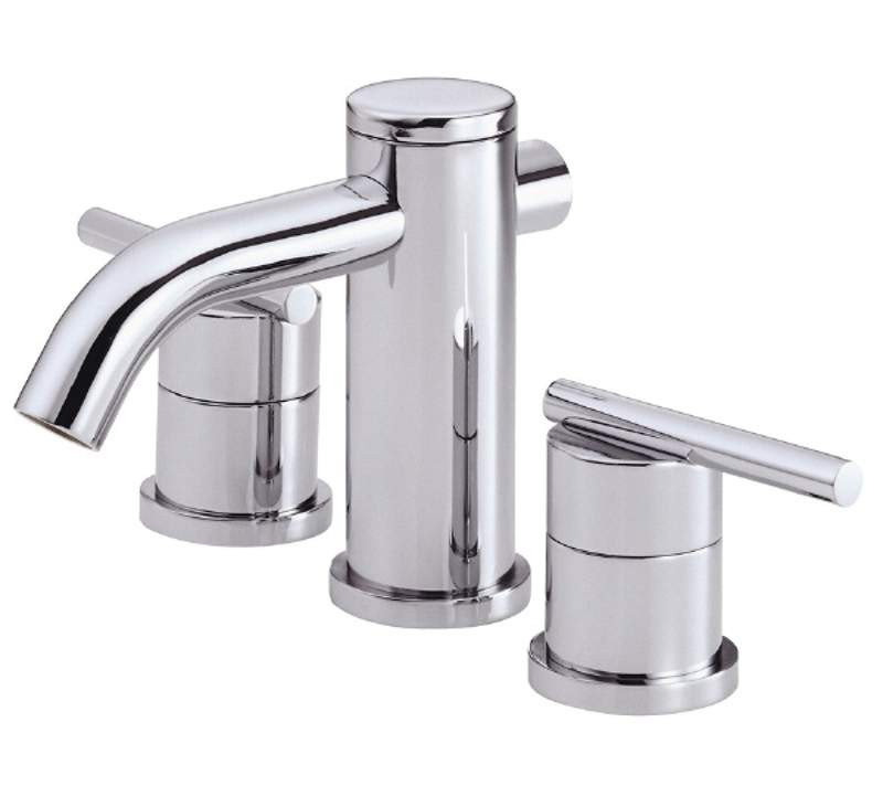Danze D304158 Parma™ Widespread Lavatory Faucet With Metal Touch Down Drain In Chrome