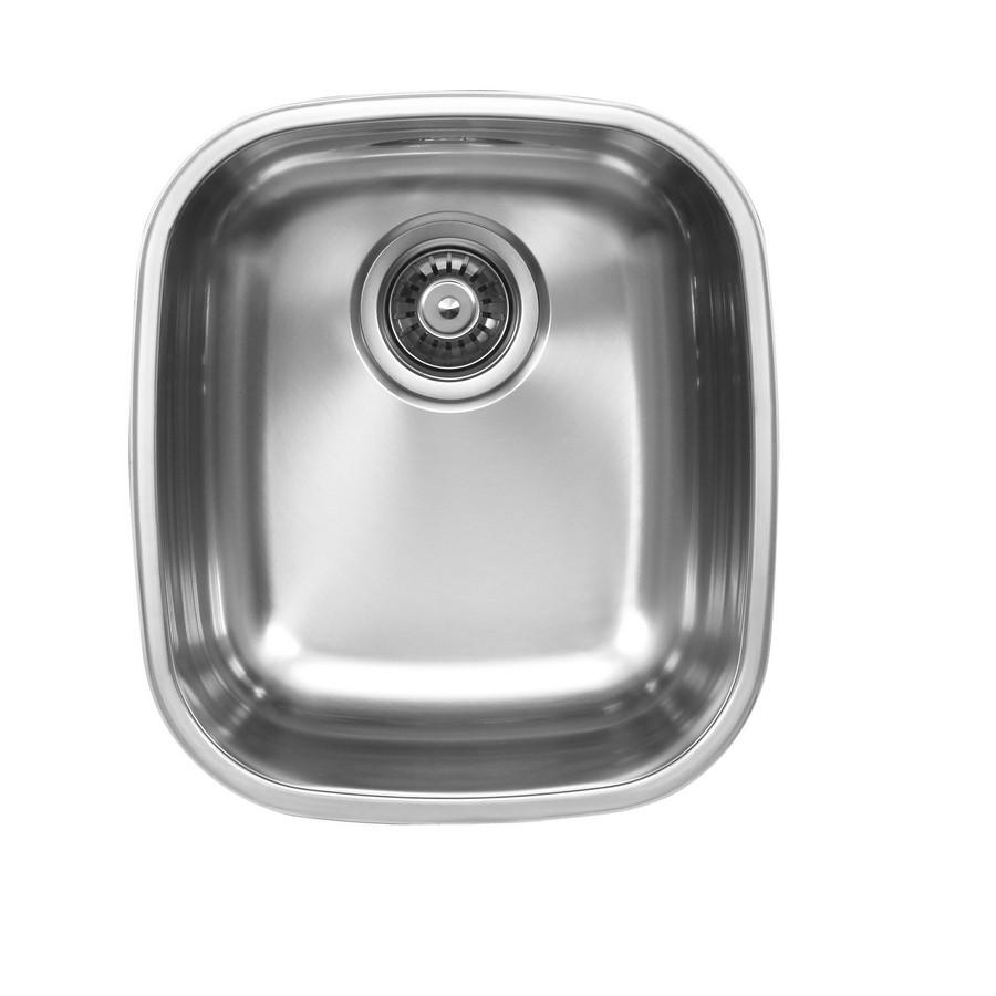 Ukinox D345.10 Single Bowl Undermount Stainless Steel Kitchen Sink