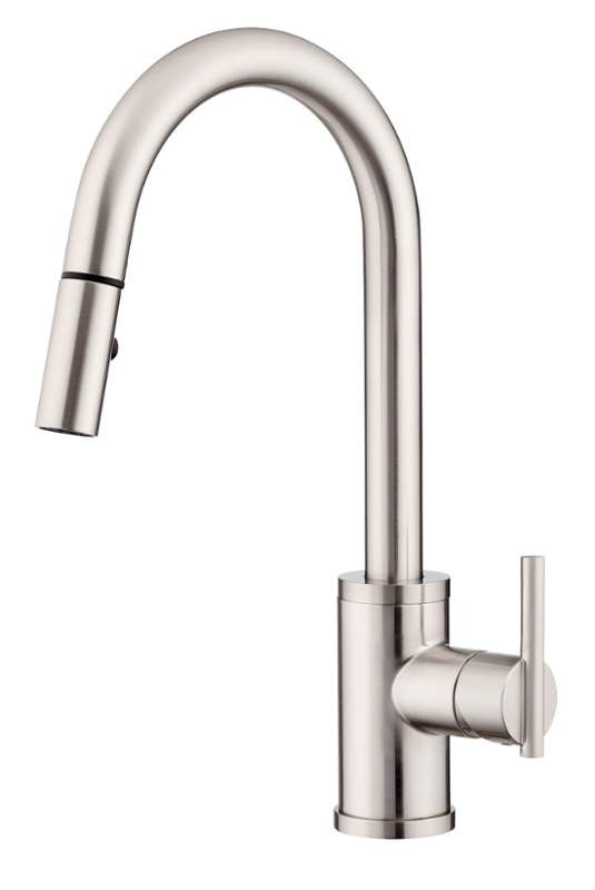Danze D453558SS Parma™ Deck Mount One Handle Kitchen Faucet In Stainless Steel