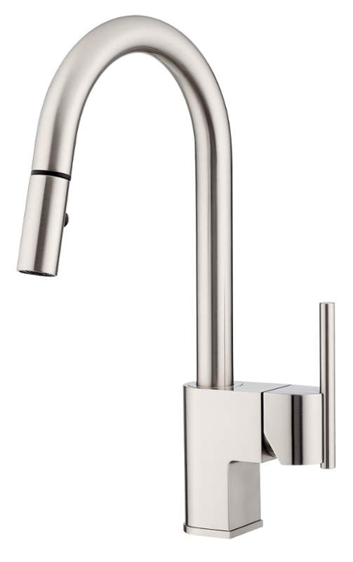 Danze D454442SS Stainless Steel Como™ Single Handle Pull-Down Kitchen Faucet