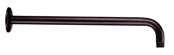 Danze D481027BR Right Angle Showerarm With Escutcheon In Tumbled Bronze
