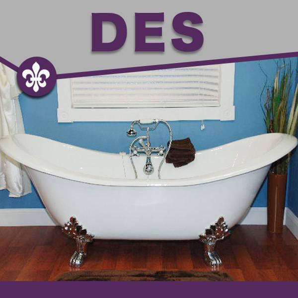Cambridge DES-D Bathtub