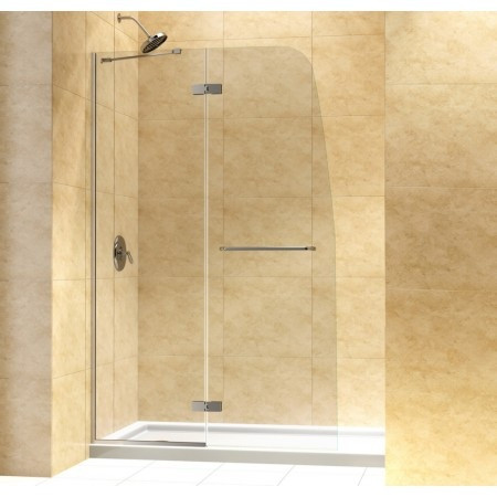 "Dreamline DL-6521C-..CL Aqua Ultra Shower Door & 32"" by 60"" Base Center Drain"