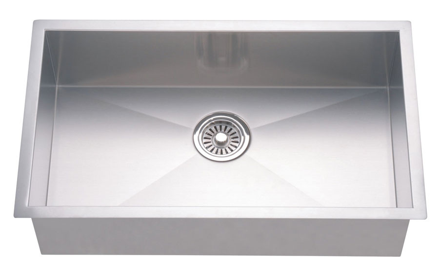 Dawn DSQ3116 Undermount Satin Squared  Kitchen Sink
