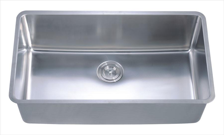 Dawn DSU3017 Undermount Rounded Corner Single Bowl Sink