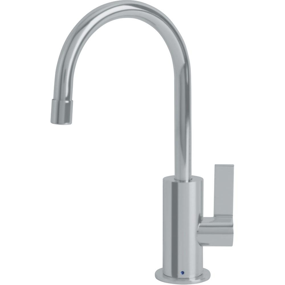 Franke DW10080 Ambient Little Butler Bar Kitchen Faucet Cold Only in Satin Nickel