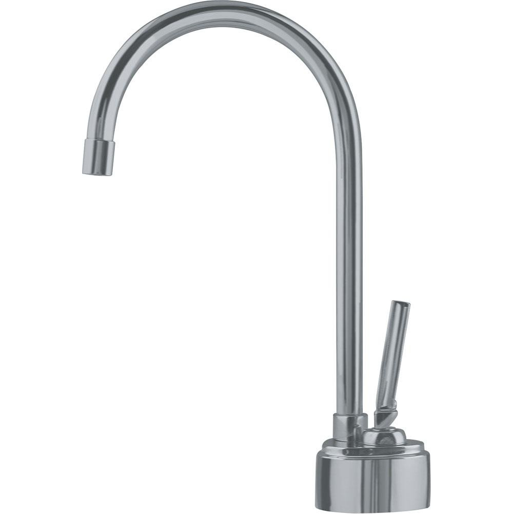 Franke DW8080 Twin Little Butler Cold Water Only Faucet with Lever Handle in Satin Nickel