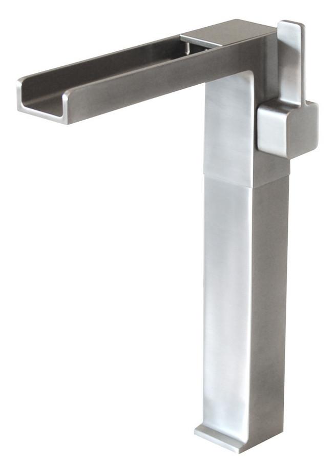Eden Bath EB_FM001VBN Cascada Waterfall Vessel Faucet - Brushed Nickel