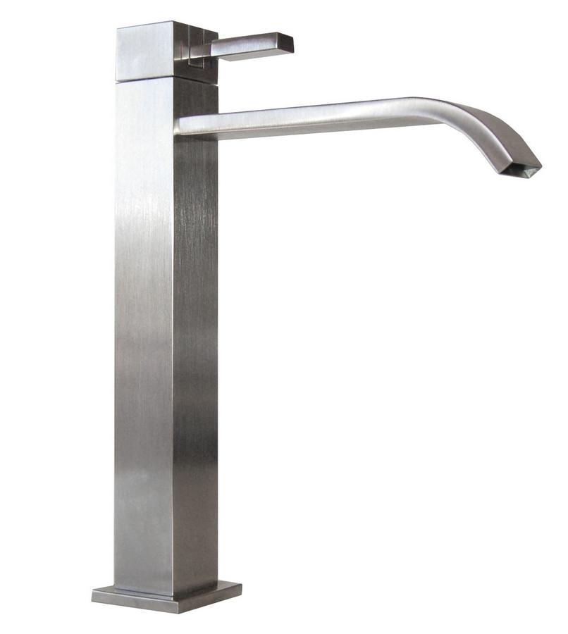 Eden Bath EB_FM006VBN Meka Bathroom Vessel Faucet in Brushed Nickel