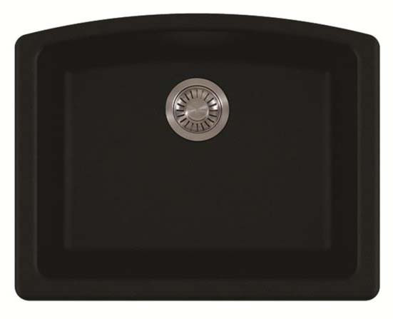 Franke ELG11022 EllIipse Undermount Rectangular Granite Kitchen Sink in Onyx