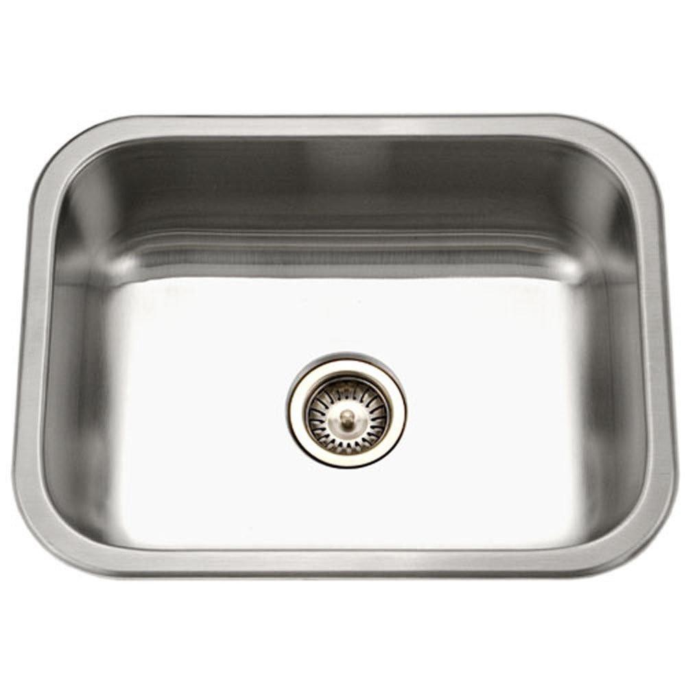 Houzer ES-2408-1 Elite Series Undermount Stainless Steel Single Bowl Kitchen Sink