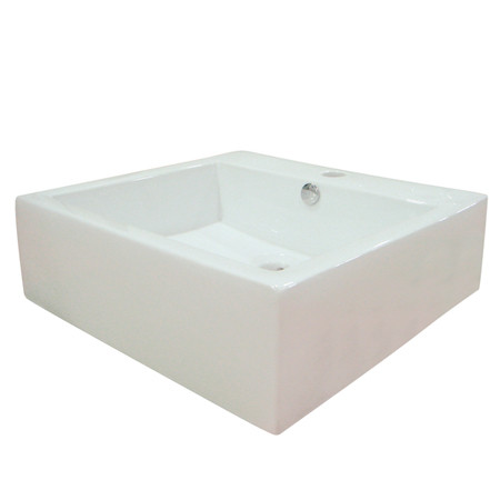 Fauceture EV4042 White or Black Above Counter Commodore Vessel Sink