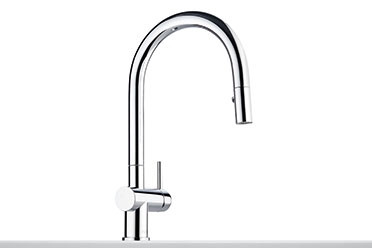 Franke FF3900 ctive-Neo Deck Mounted Kitchen Faucet in Polished Chrome with Pull Out Spray