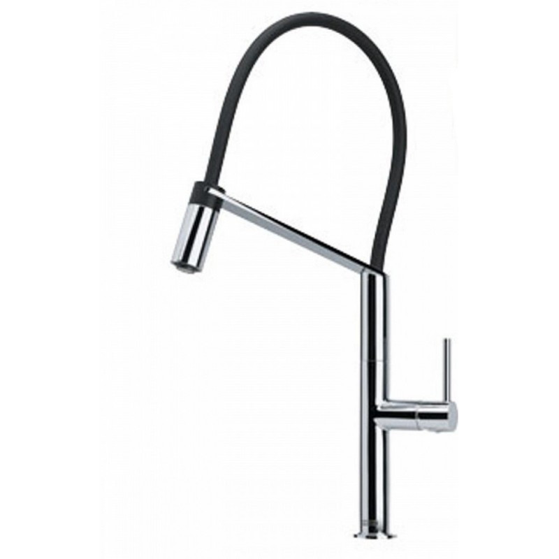 Franke FF4980 Chillout Cold Water Dispenser Faucet with Pull Out Spray in Satin Nickel
