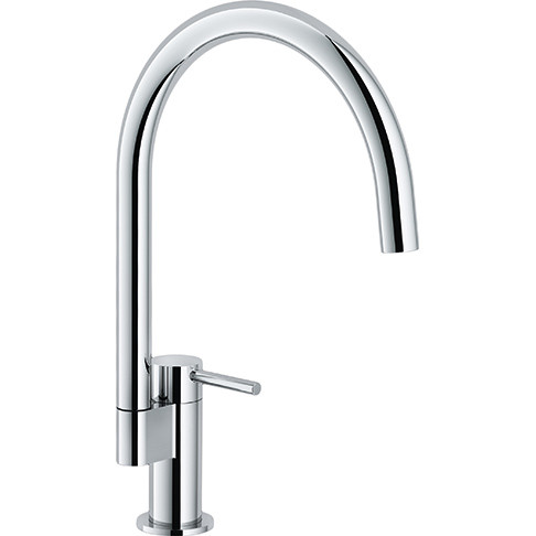 Franke FFP2900 Manhattan Prep Single Hole Faucet with Pull Down Spray In