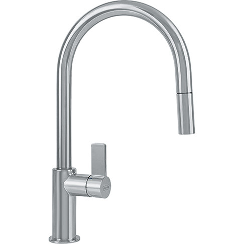 Franke FFP3180 Ambient Single Lever Handle Kitchen Faucet with Swivel Spout In Satin Nickel