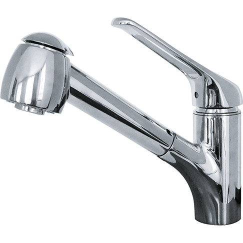 Franke FFPS20100 Valais Kitchen Faucet with Pull Out Spray In Chrome
