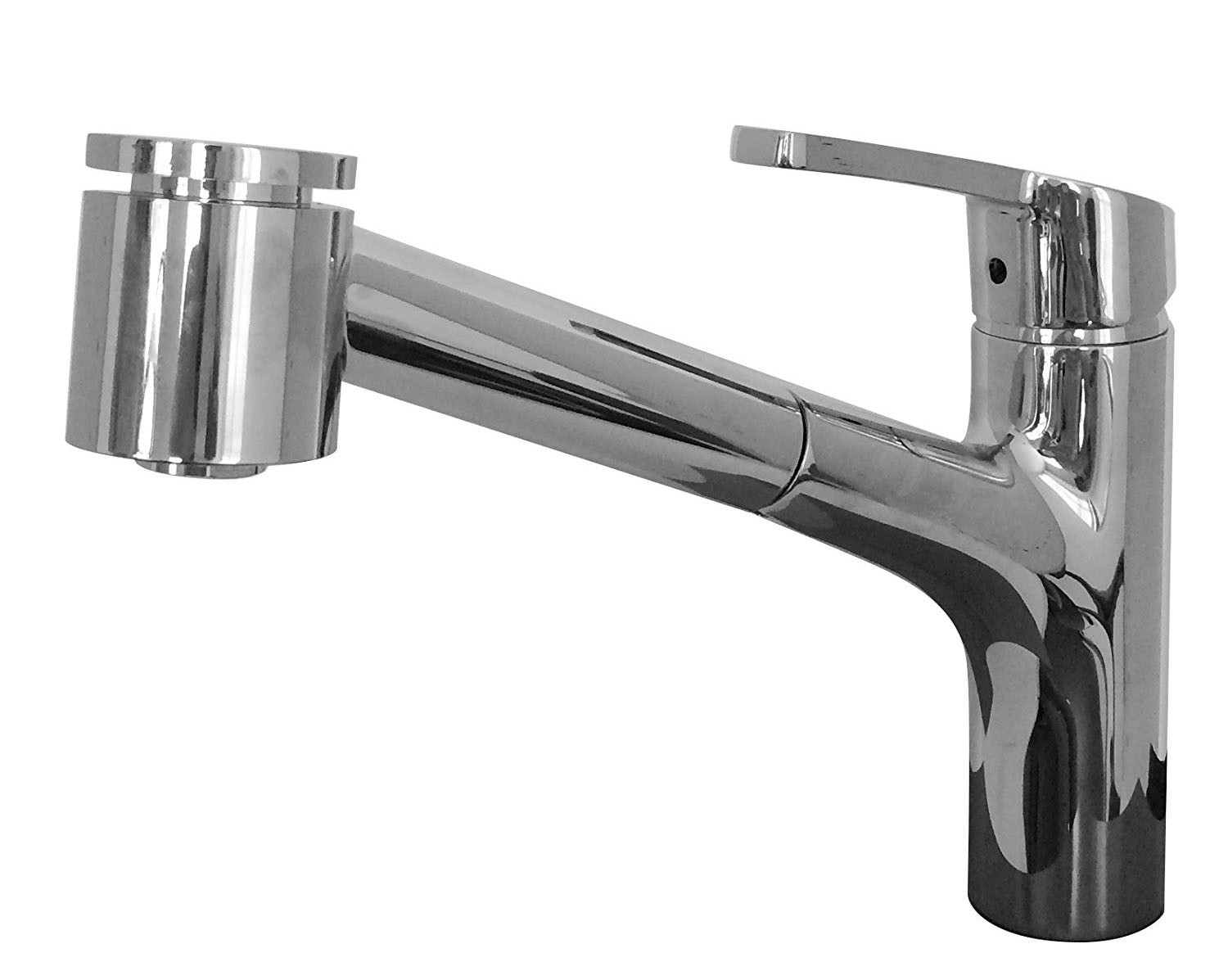 Franke FFPS20200 Sion Single Hole Kitchen Faucet with Pull Out Spray In Chrome