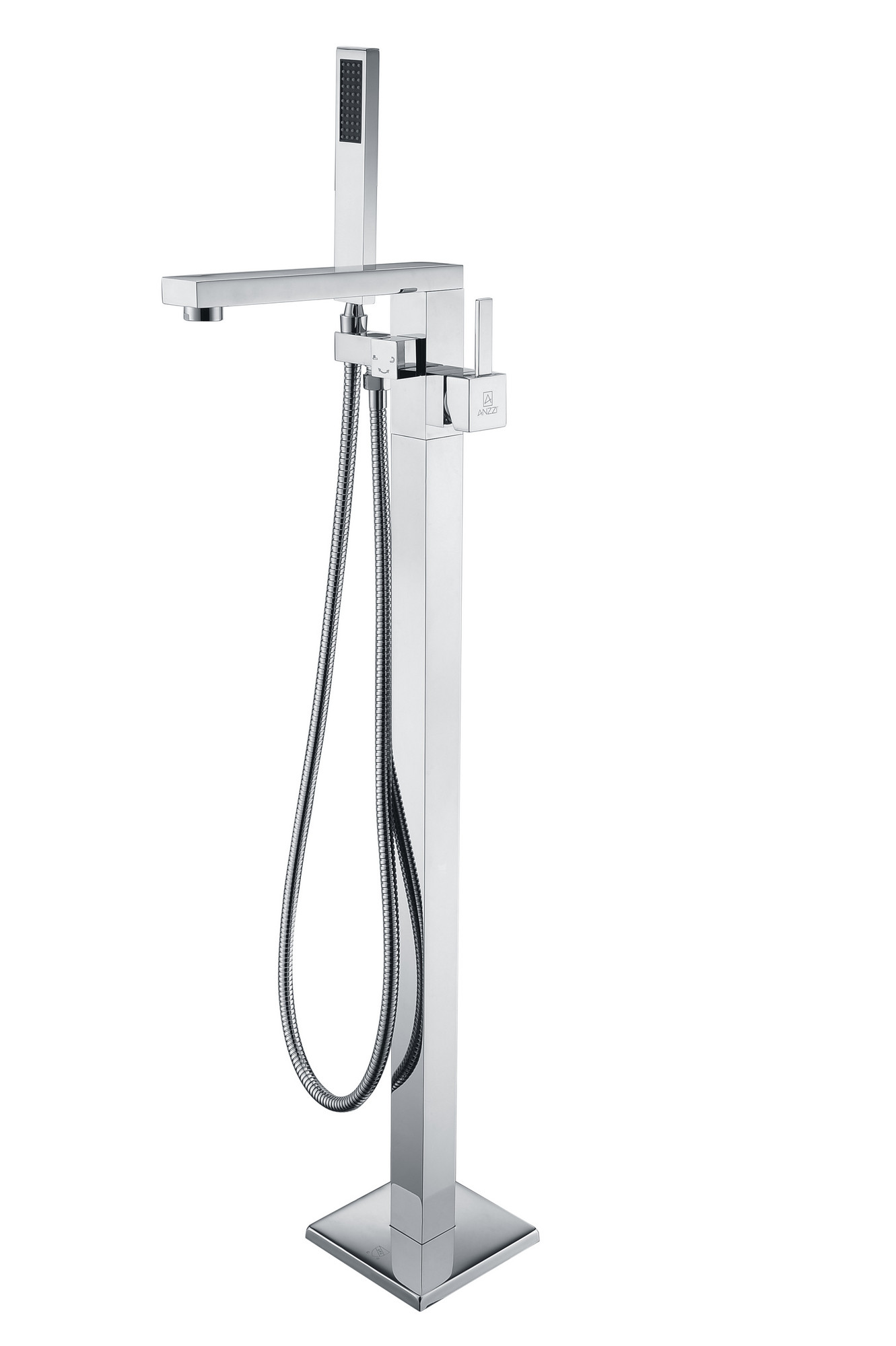 ANZZI FS-AZ0037CH Khone Stainless Steel Tub Faucet In Polished Chrome