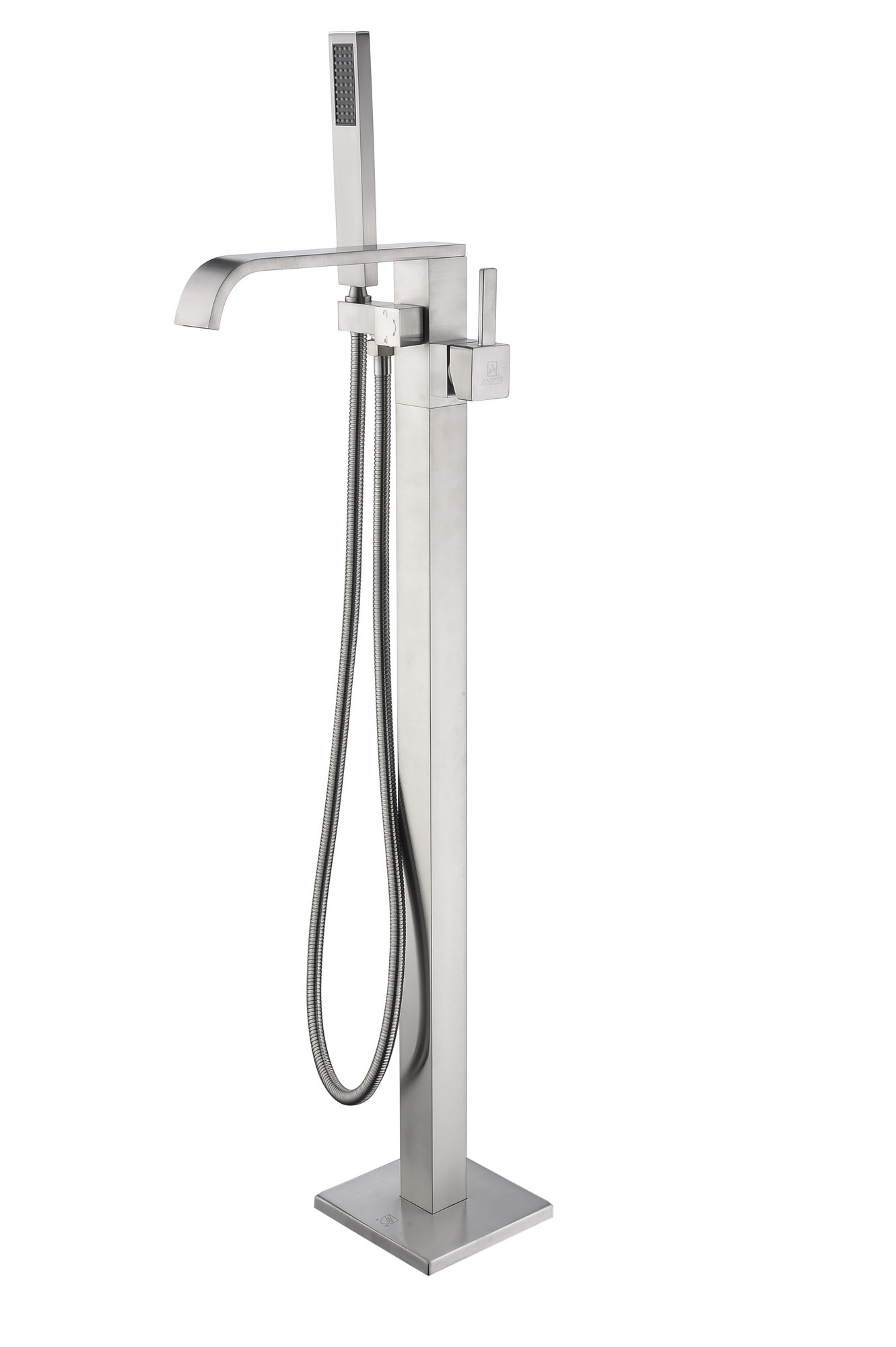 ANZZI FS-AZ0044BN Angel Tub Faucet In Brushed Nickel With Hand Shower
