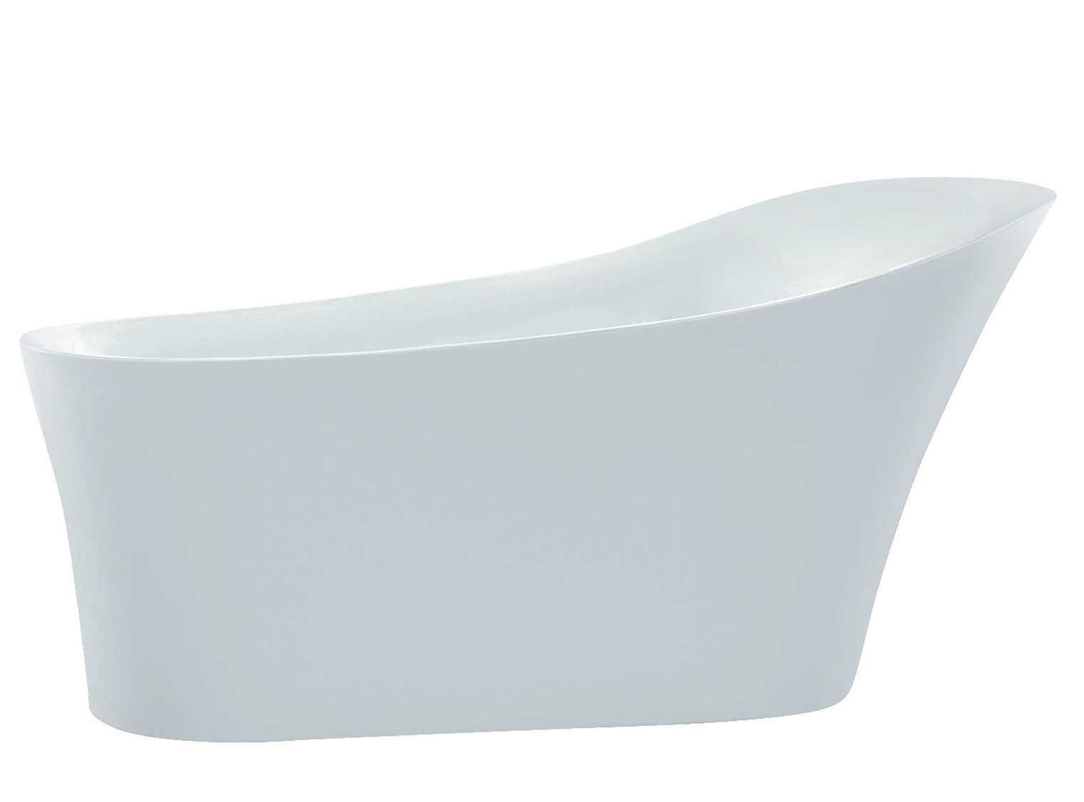 Anzzi FT-AZ092 Maple Series 5.58 ft. Freestanding Bathtub in White