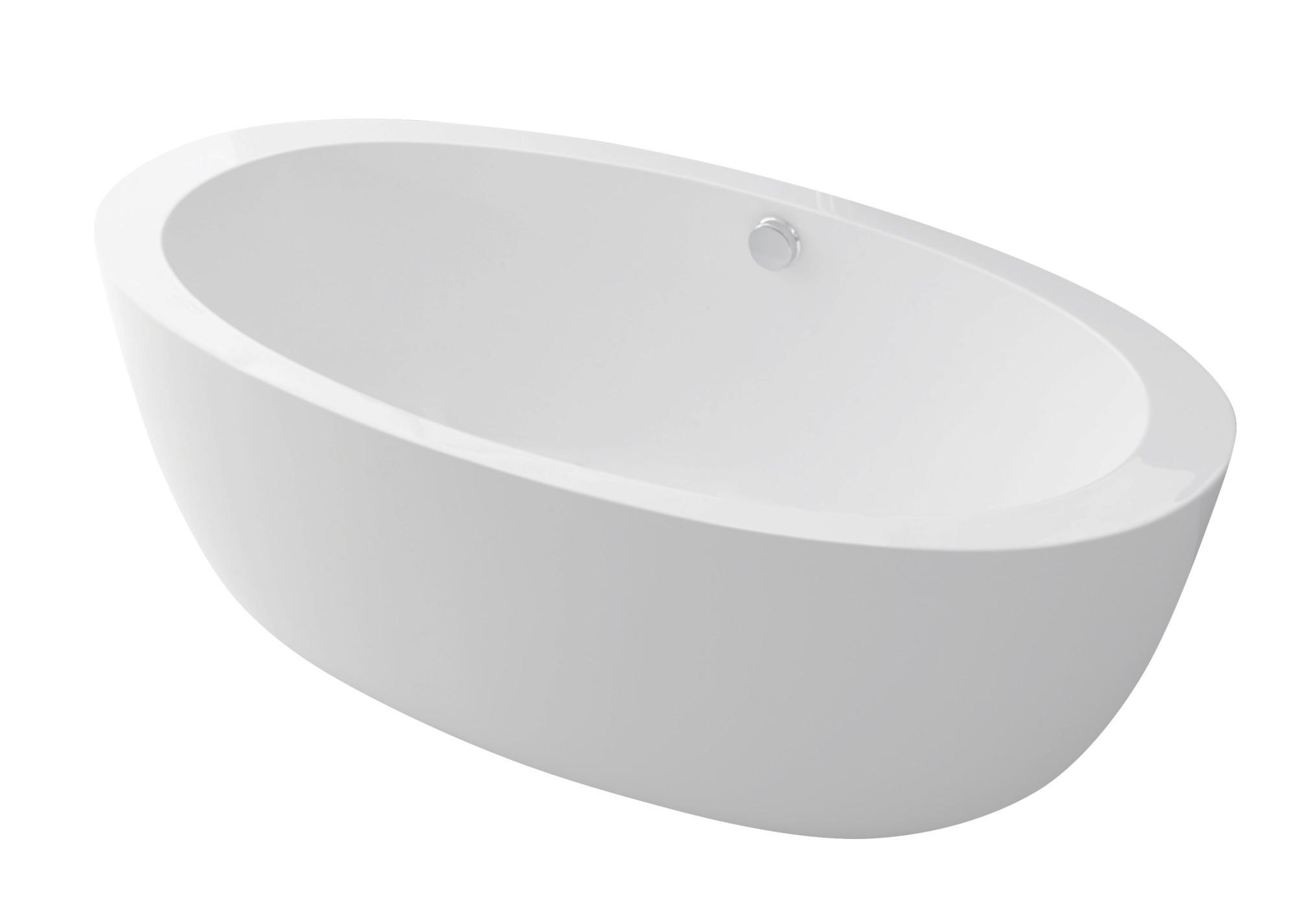 Anzzi FT-AZ111 Yield Series 5.58 ft. Freestanding Bathtub in White