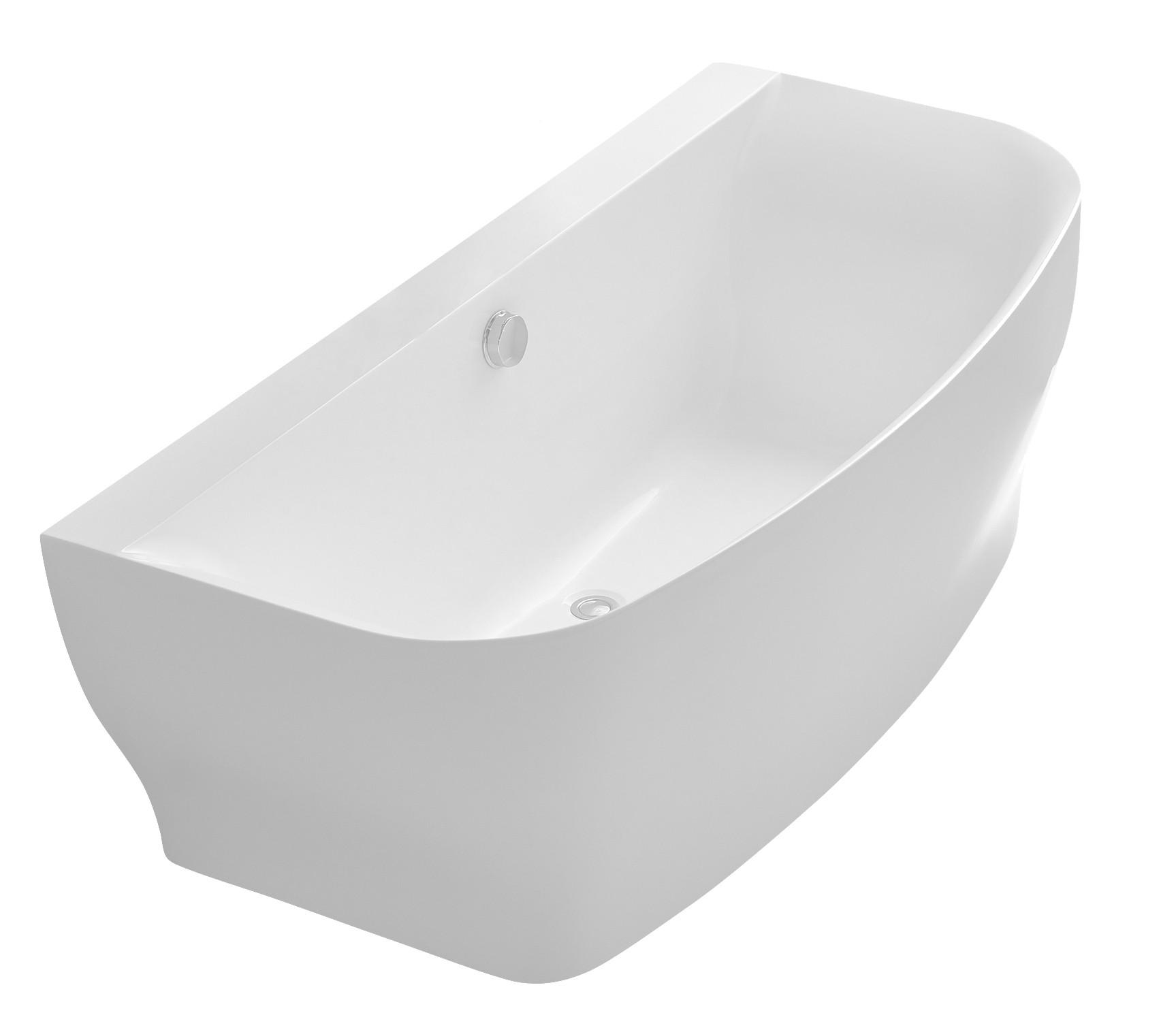 Anzzi FT-AZ112 Bank Series 5.41 ft. Freestanding Bathtub in White