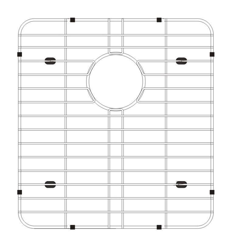 Lenova G0D2S Stainless Steel Kitchen Sink Grid
