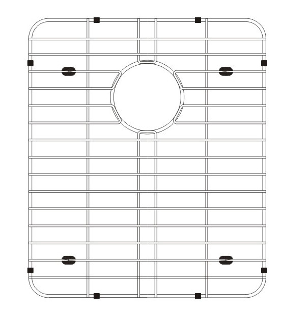 Lenova G0D3 Stainless Steel Kitchen Sink Grid