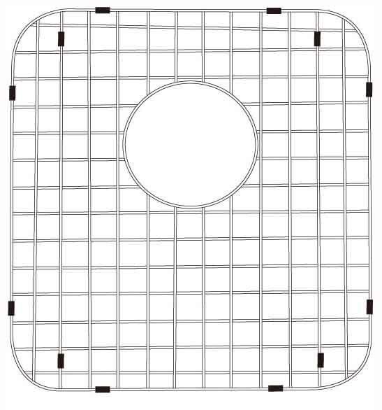 Lenova G100 Stainless Steel Kitchen Sink Grid