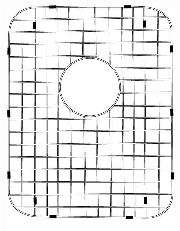Lenova G118 Stainless Steel Kitchen Sink Grid