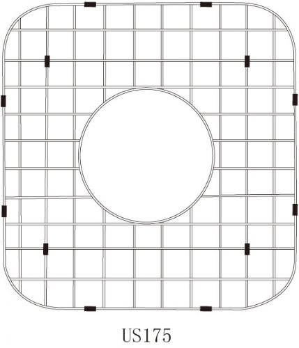 Lenova G175 Stainless Steel Kitchen Sink Grid