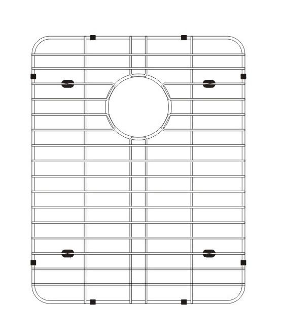 Lenova G1D2B Stainless Steel Kitchen Sink Grid