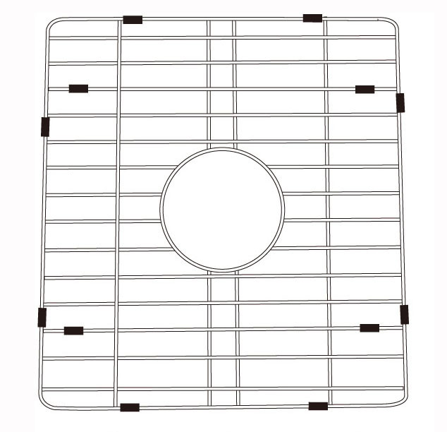 Lenova G3038B Stainless Steel Kitchen Sink Grid