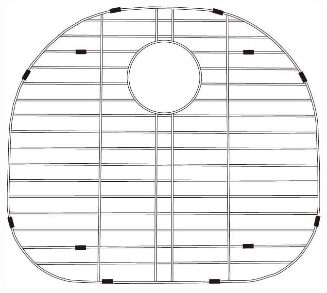 Lenova G303 Stainless Steel Kitchen Sink Grid