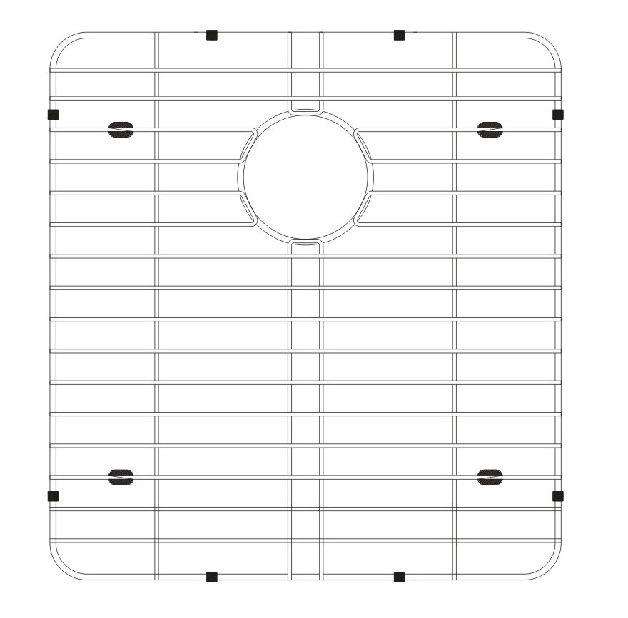 Lenova GAD3B Stainless Steel Kitchen Sink Grid