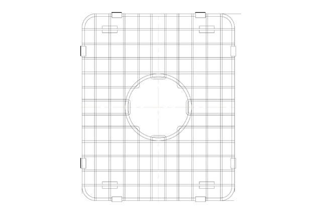 Lenova GDD1S Stainless Steel Kitchen Sink Grid