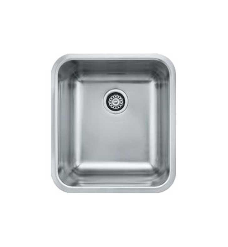 Franke GDX11018 Grande Series Single Bowl Kitchen Sink in Stainless Steel
