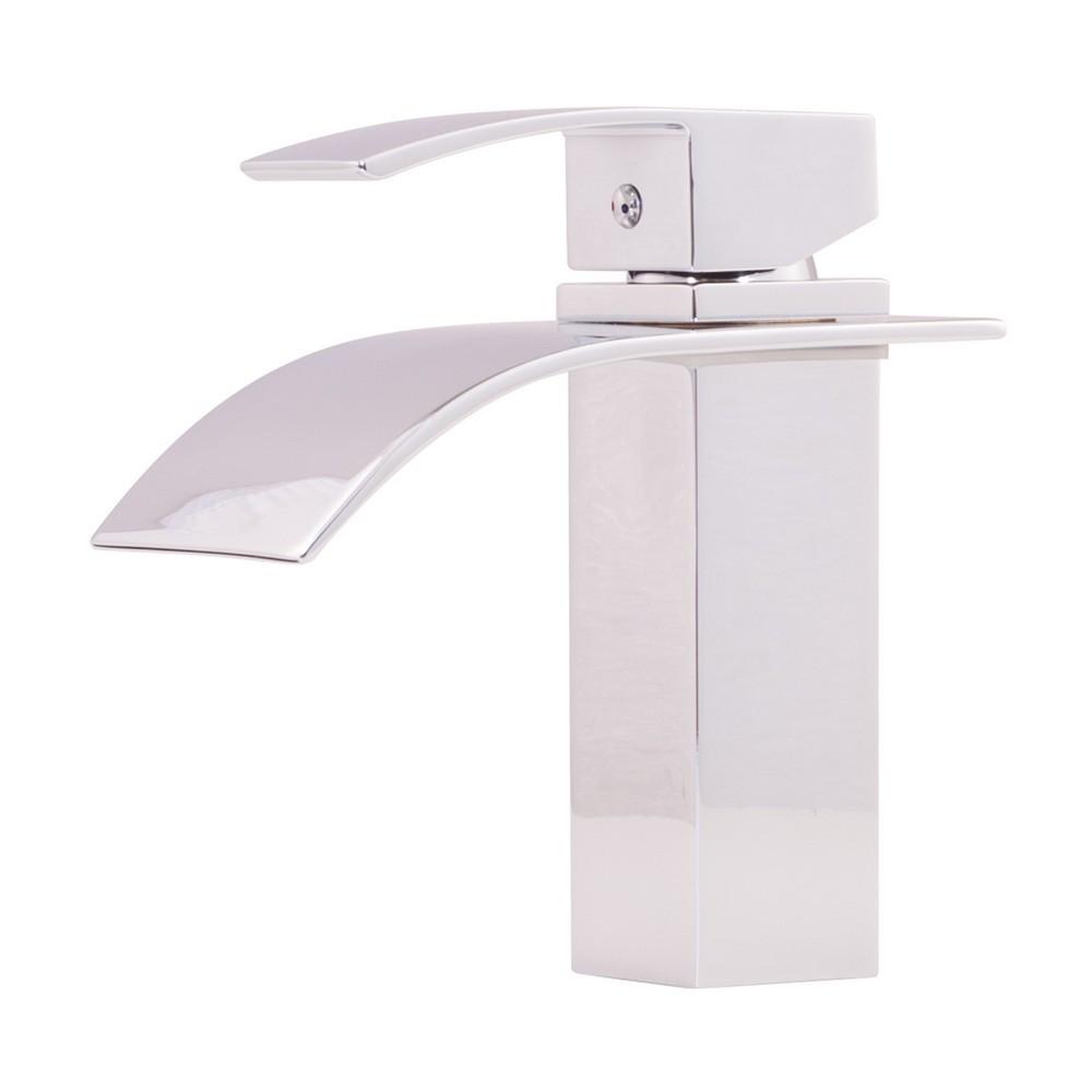 Novatto GF-136SCH REMI Brass Single Lever Lavatory Faucet In Chrome
