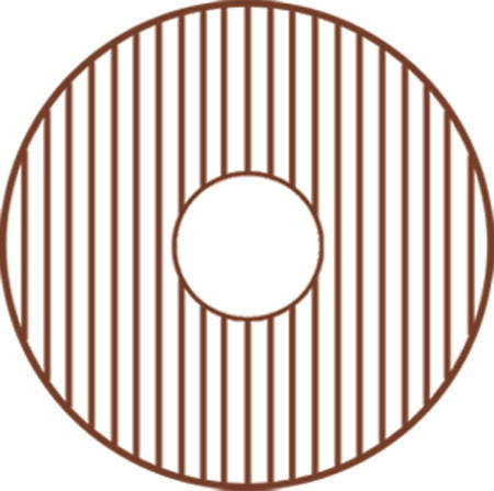 Whitehaus GRC1818 Protection Grid for Copper Kitchen Sink WH1818COPR