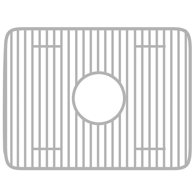 Whitehaus GRC2519 Rectangular Protection Grid for 25'' x 19'' Copper Sinks