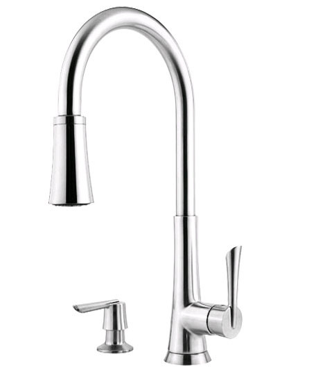 Price Pfister GT529-MD Pull Out Kitchen Faucet