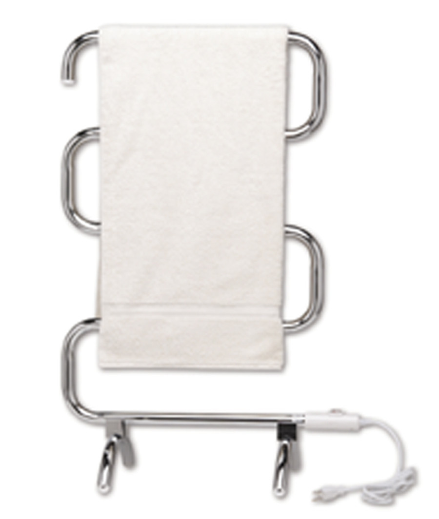 Warmrails HCC Heatra Classic Portable / Wall Chrome Bath Towel Warmer