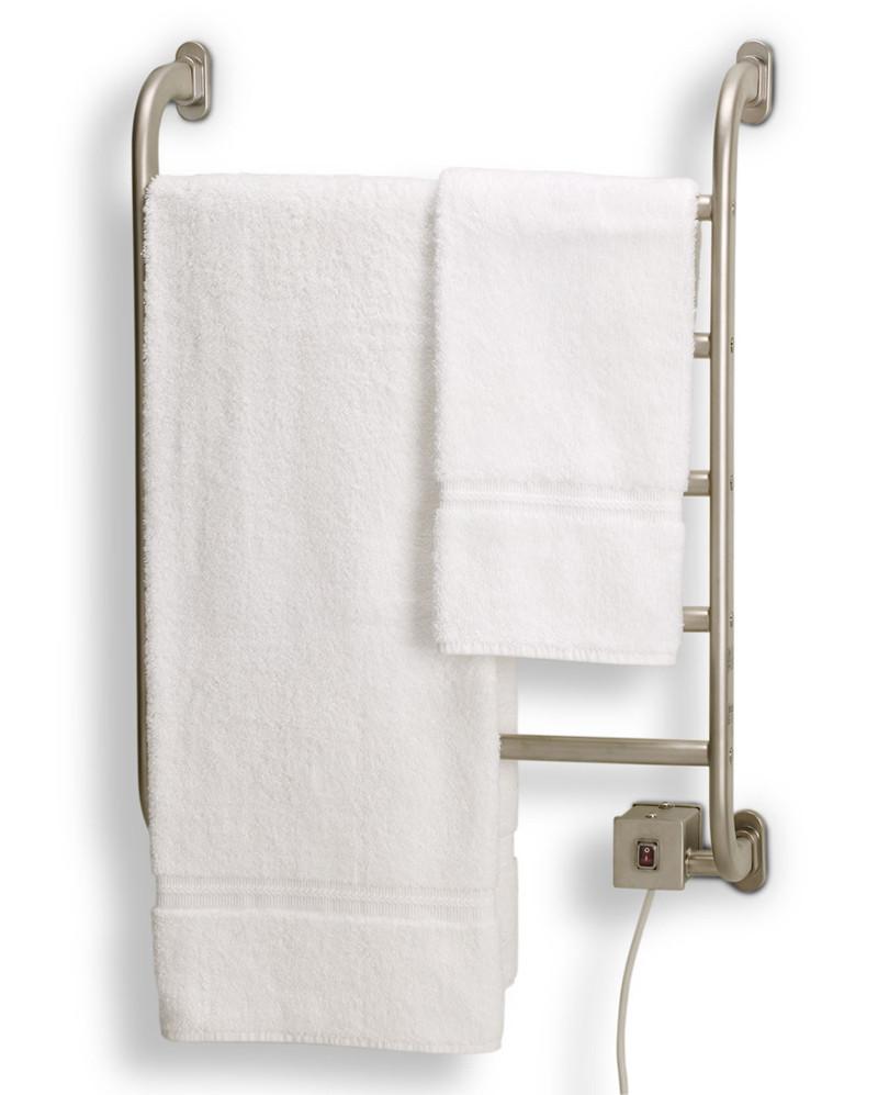 Warmrails HSRC Regent Wall Mounted Chrome Bath Towel Warmer