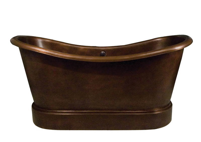 Copper Bathtub COTDSN72L-SAC