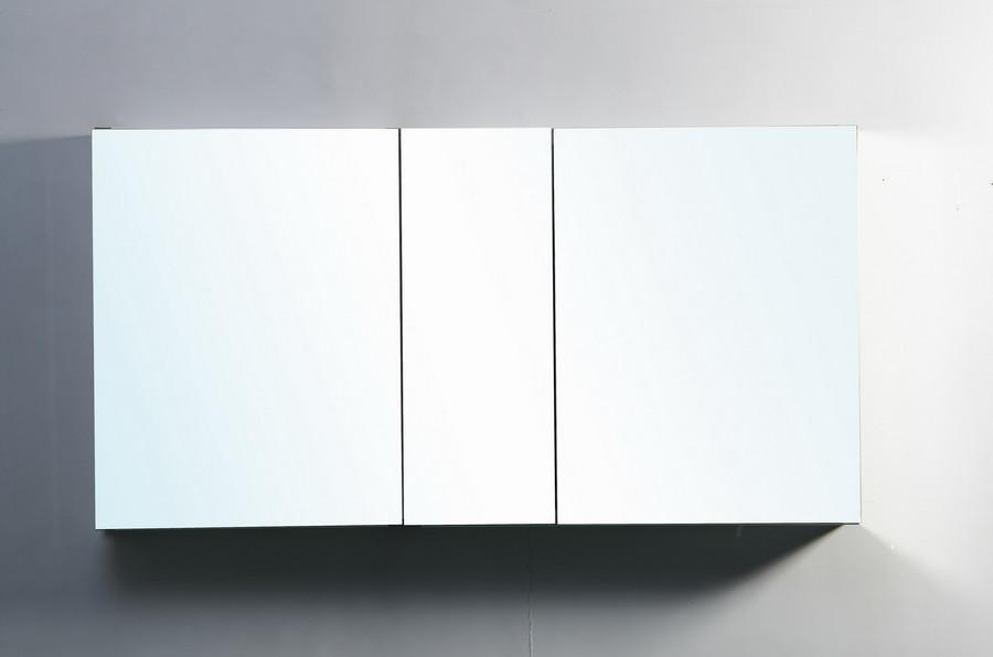Virtu JMC-67650 50 Inch Surface Mount Mirrored Medicine Cabinet